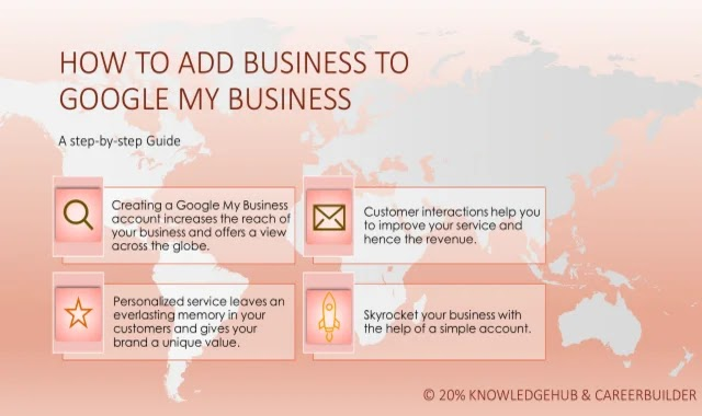Creating a Google My Business account increases the reach of your business and offers a view across the globe.  Customer interactions help you to improve your service and hence the revenue. Personalized service leaves an everlasting memory in your customers and gives your brand a unique value.  Skyrocket your business with the help of a simple account.
