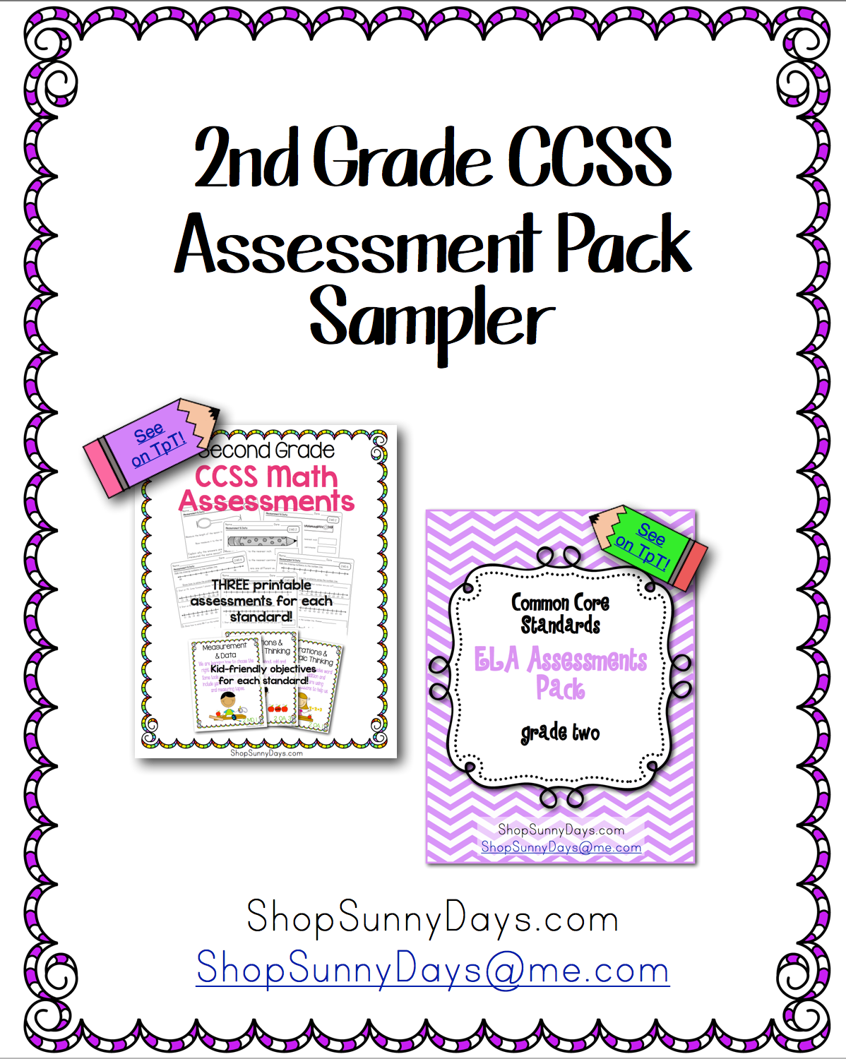 CCSS Assessments for 2nd grade - Classroom Freebies