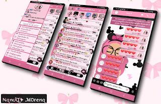 Girl Pink Theme For YOWhatsApp & Fouad WhatsApp By Nanda