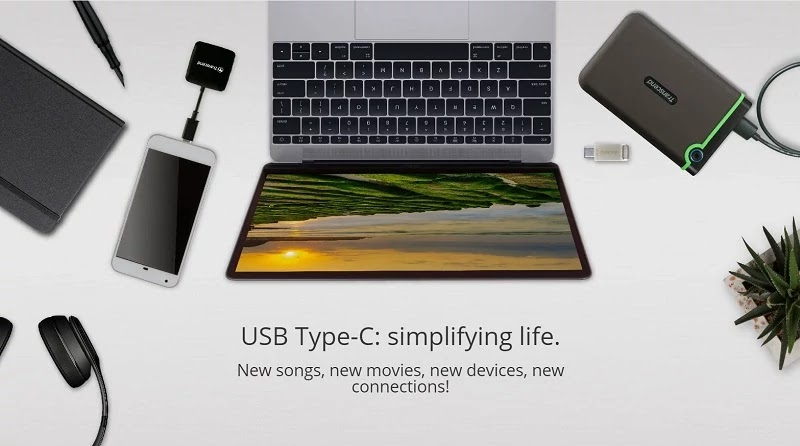 USB Type-C Storage Solution from Transcend