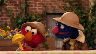 Elmo, Paleontologist Grover, Sesame Street Episode 4314 Sesame Street OSaurus season 43