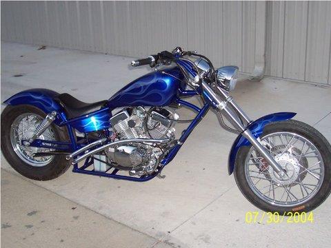 Chopper Moottoripyörä