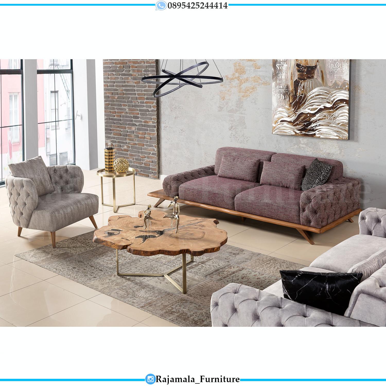 Set Sofa Tamu Minimalis Luxury Design Interior Inspiring RM-0156
