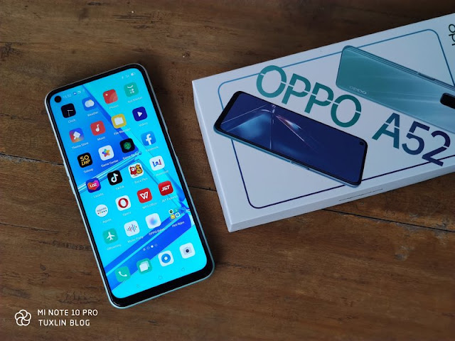Performa Oppo A52