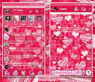 Loves Theme For YOWhatsApp & KM WhatsApp By Thania