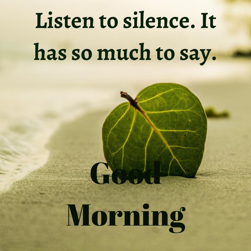 Listen to Silent