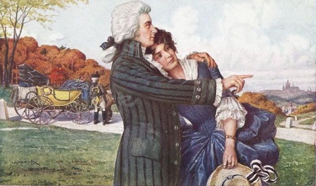 Amadeus e Constanta em lua de mel