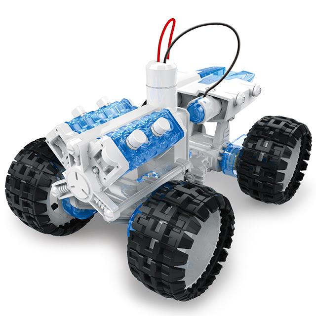 Xe lắp ráp chạy bằng nước muối