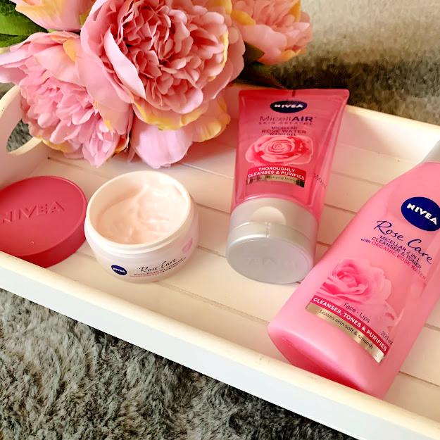 Nivea, nivea rose care skincare, skincare blogger, beauty blogger, skincare, Wirral blogger, Liverpool blogger,