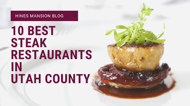 Top 10 Steaks in Utah County blog cover image