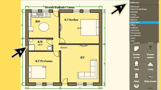 Cara Mudah Membuat Denah Rumah Sederhana