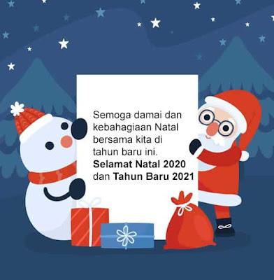 ucapan natal 2020