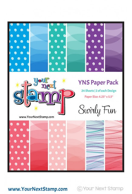 YNS Paper Pack Swirly Fun