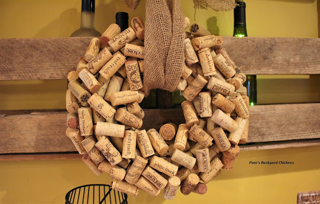 Making a wine cork wreath is a fun and crafty way to display wine corks you've saved over time.