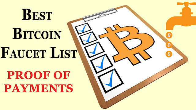 Highest Paying Bitcoin Faucet List Payment Proof (June 2018) - TOP ...