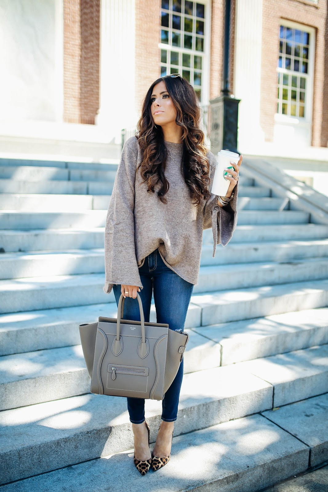 A Casual Fall Outfit from Burlington, VT | The Sweetest Thing