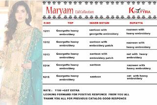 Khayyira Maryam Eid Collection pakistani Suits wholesaler