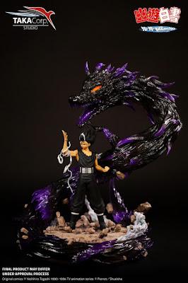Figuras: Increible figura de Hiei de Yu Yu Hakusho por Taka Corp Studio
