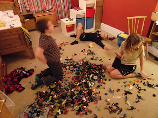 lego heroes building competition