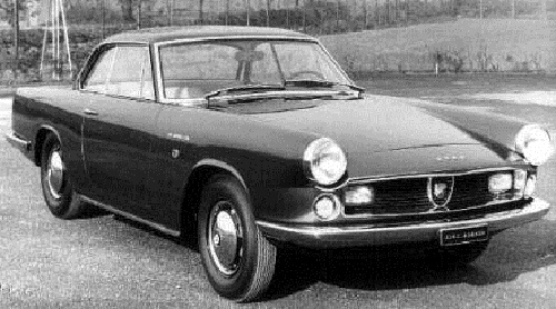 Fiat Abarth 2200 Coupe 1960