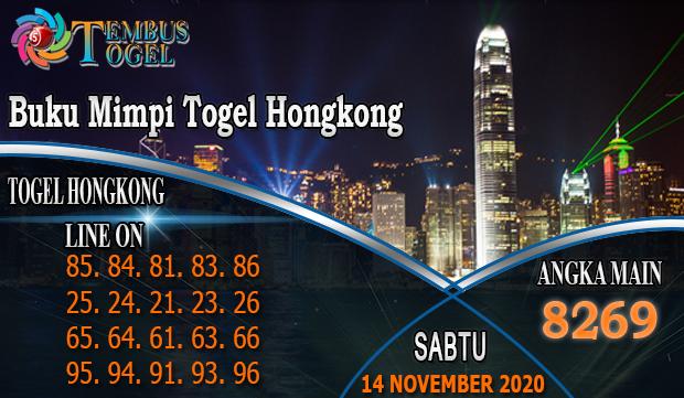 Buku Mimpi Togel Hongkong Hari Sabtu 14 November 2020