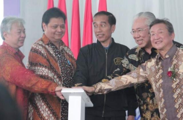 Jokowi Lepas Ekspor Motor Yamaha 2018