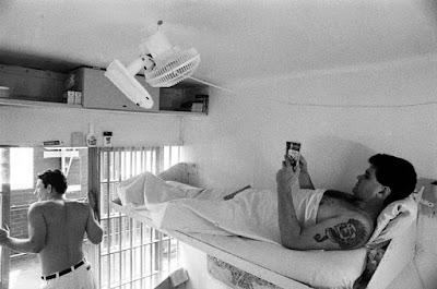 Cameron Todd Willingham in his cell on death row, in 1994.