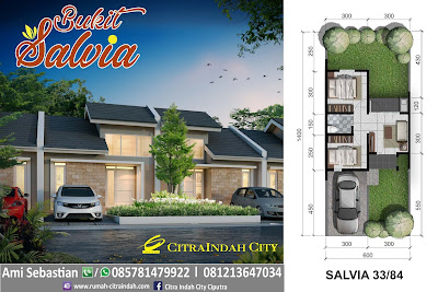 model-denah-rumah-salvia-33-84-Citra-Indah-City