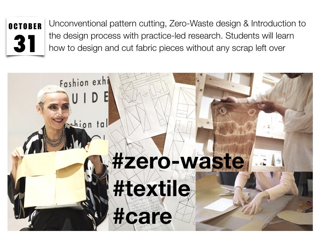 Elena Fashion Design Workshops Zero Waste Design Projects Eco Fashion Zero Waste Mini Collection