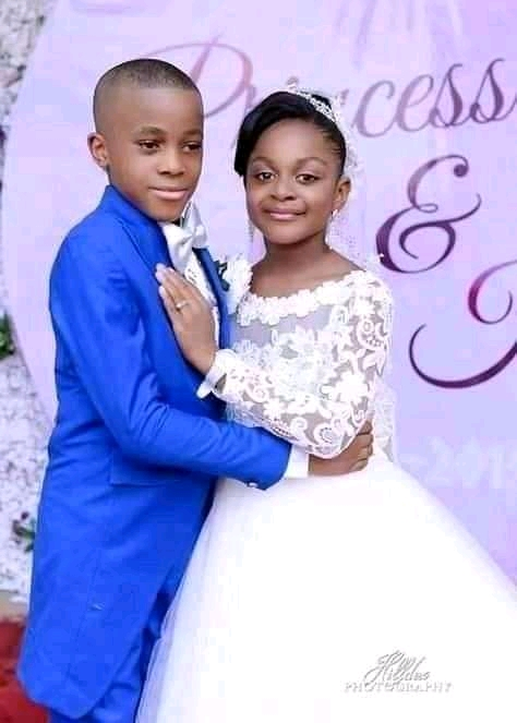 10 YEARS OLD BOY WEDS 7 YEARS OLD GIRL