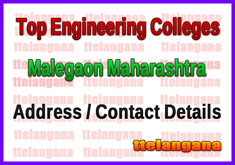Top Engineering Colleges in Malegaon Maharashtra