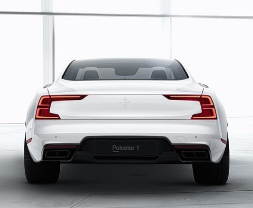 Polestar 1 review back side image