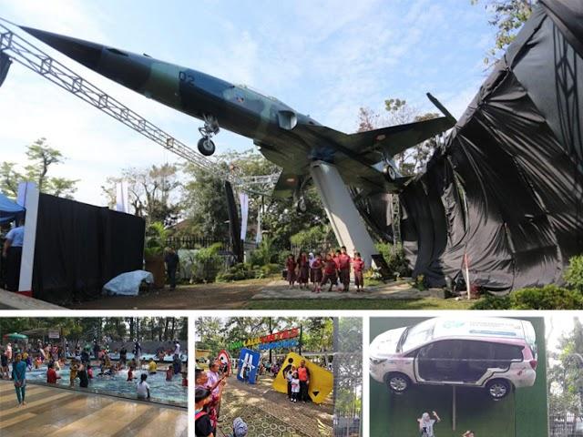 Baru, Taman Lalu Lintas Bandung Punya Koleksi Pesawat F5 Tiger