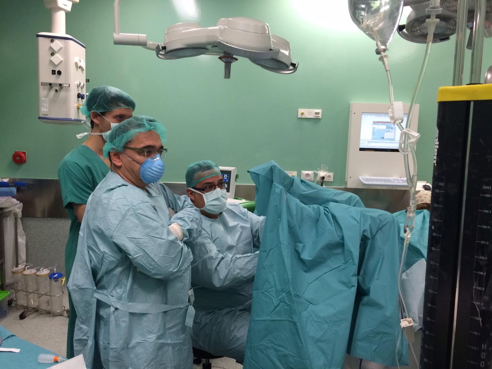 nueva técnica para cirugía de próstata en milán