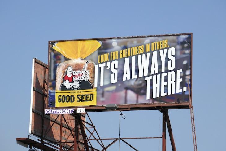 Good Seed Daves Killer Bread billboard