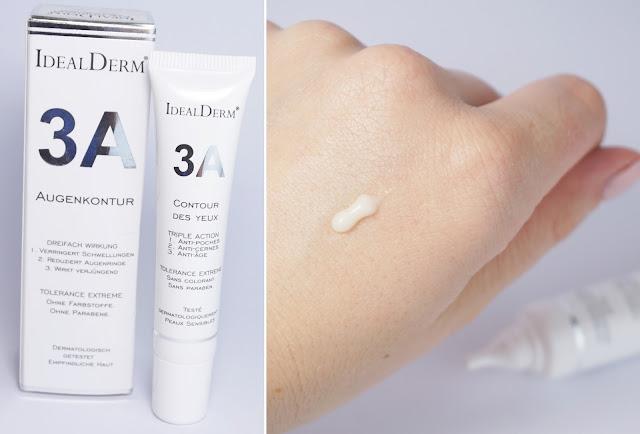idealderm - 3A Augenkontur Creme mit 3-fach Wirkung