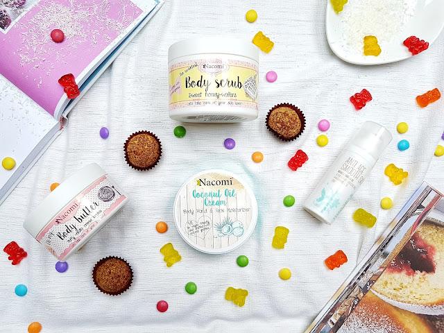 nacomi, prírodná kozmetika, polská kozmetika, scrub, píling, denný krém, body butter, kokosový krém