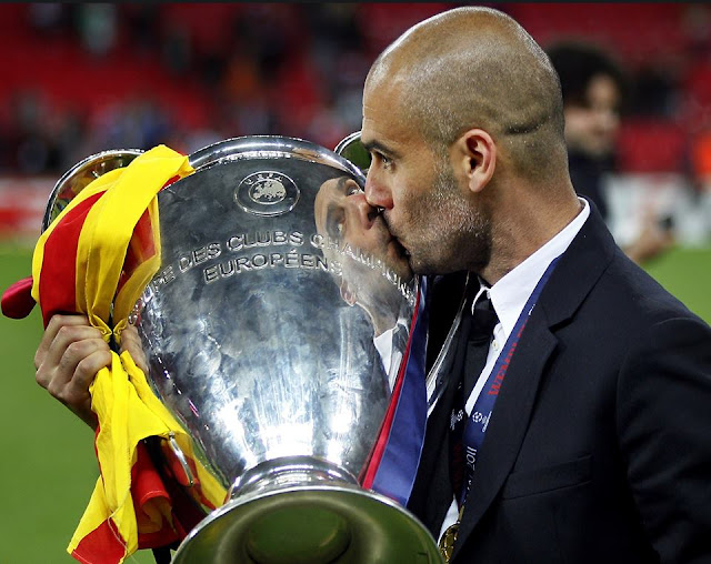 Happy 46th birthday to two-time winning coach Josep Guardiola!