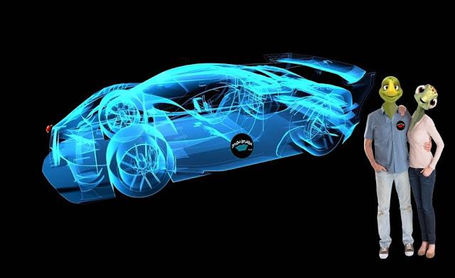 No futuro, o carro será um local onde as pessoas poderão trabalhar ou se divertir com jogos eletrônicos.