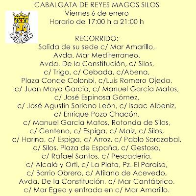 CABALGATA DE REYES MAGOS SILOS
