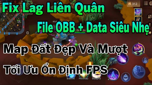 Fix Lag Liên Quân Giảm Lag Với File Data + OBB Siêu Mượt Tối Ưu Ổn Định FPS | HQT CHANNEL