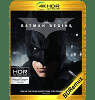 BATMAN INICIA (2005) IMAX BDREMUX 2160P HDR MKV ESPAÑOL LATINO