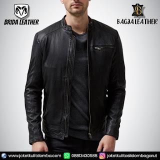jaket kulit second