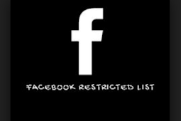 Restriction On Facebook