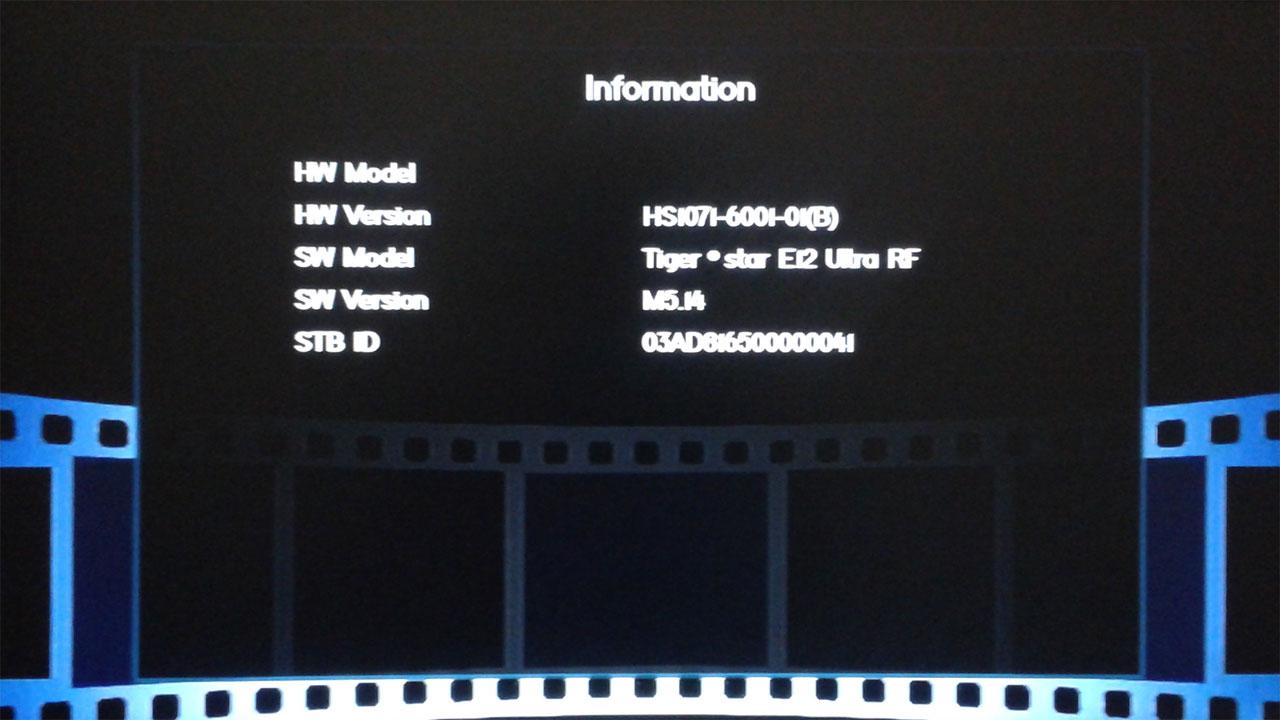 Software Tiger Star E12 Ultra RF New Firmware