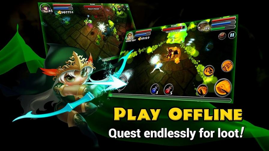 download Dungeon Quest Mod Apk [Unlimited Money] Terbaru 2020 2