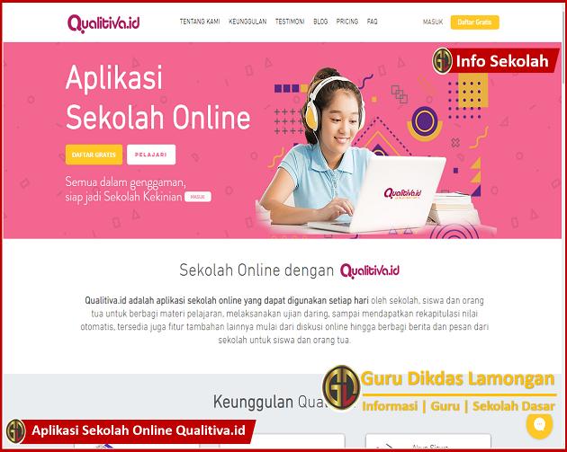 Webinar Qualitiva Tersedia E-Certificate dan Dapatkan Aplikasi Sekolah Online