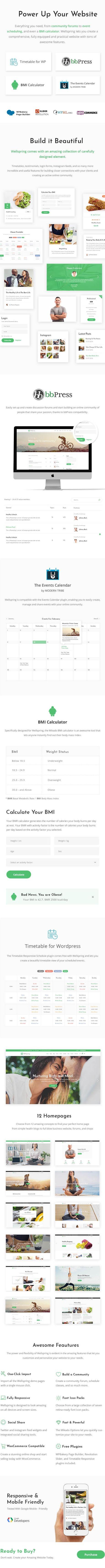 WordPress Theme for Health, Lifestyle & Wellness  - Wellspring