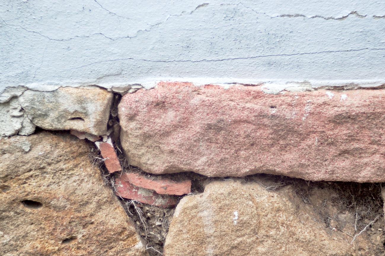 Fassaden&Mauern #3 - Teilweise verputzt