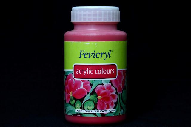 Pidilite Fevicryl Acrylic Colour 13 Magenta 500ml